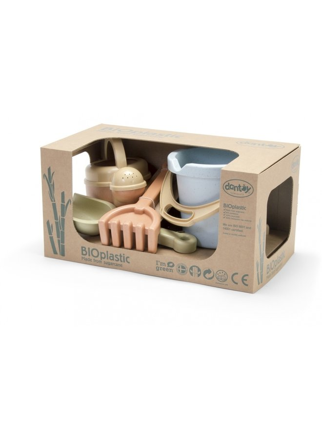 Bioplastic sandbox set for children