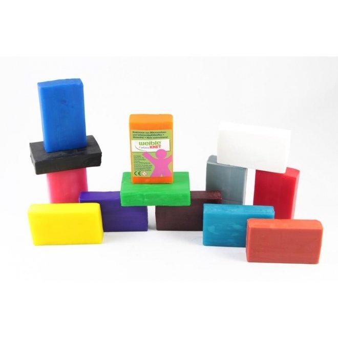 40 blokken natuurlijke klei   grootverpakking