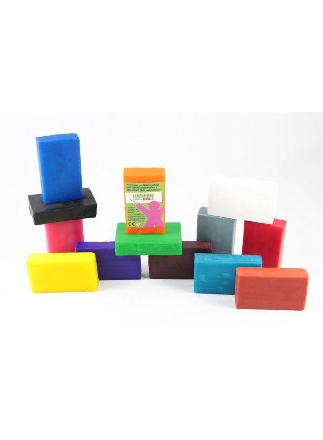 40 blokken natuurlijke klei | grootverpakking
