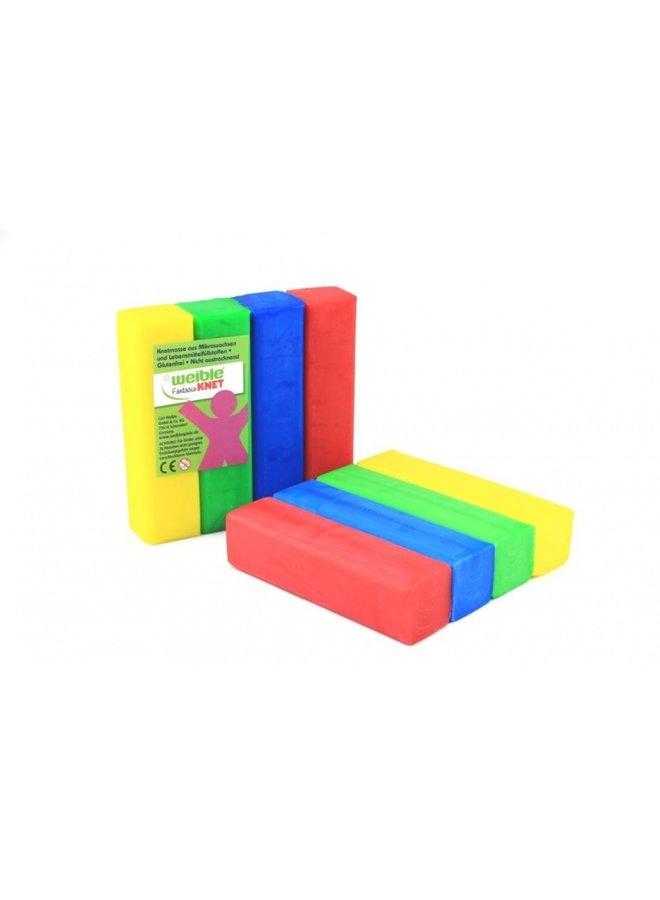 4 blokken natuurlijke klei | 400 gram