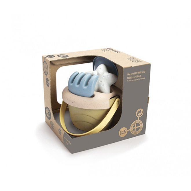 Bioplastic mini zandbakset -5 delig