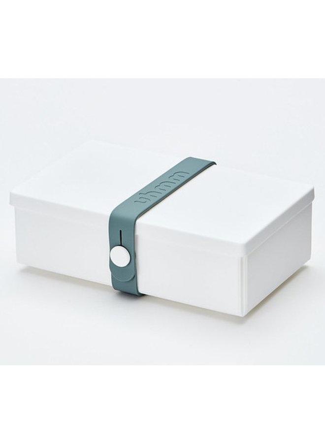 White Uhmm Box | lunch box | lunch box