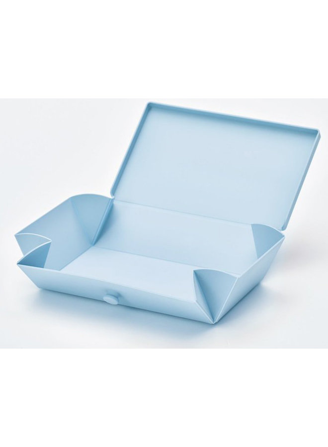 Lichtblauwe Uhmm Box | lunchbox | broodtrommel