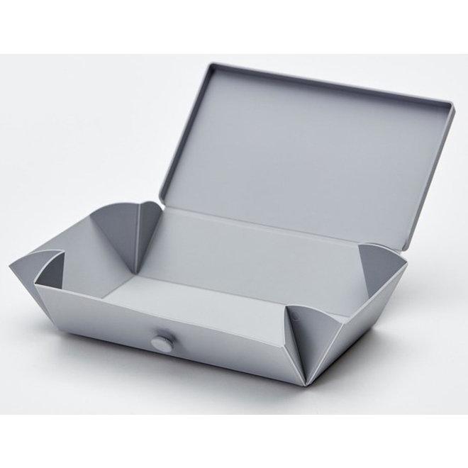 Light Gray Uhmm Box | lunch box | lunch box