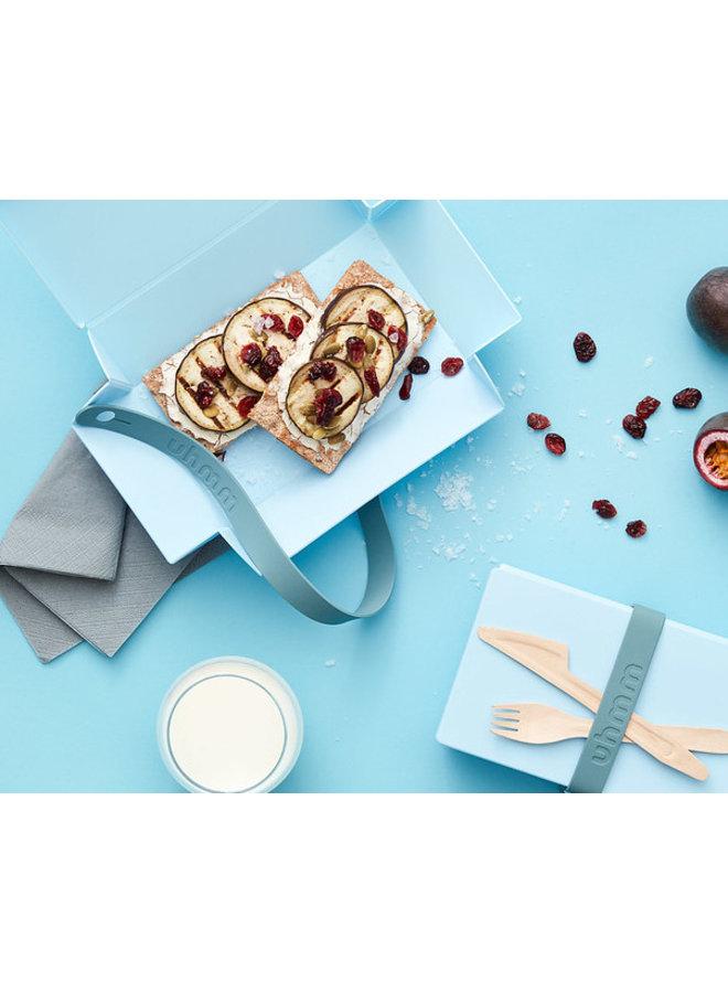 Light Blue Uhmm Box | lunch box | lunch box