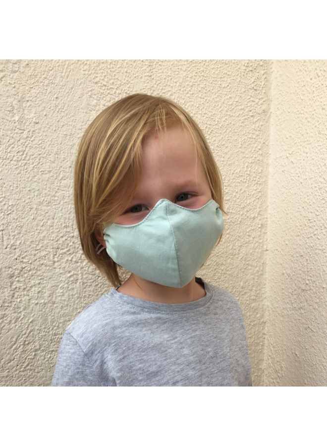 Reusable mouth mask with filter Mint | children & adults