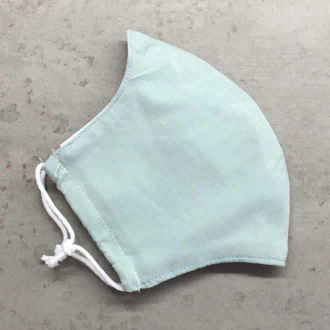 Reusable mouth mask with filter | Mint | children & adults