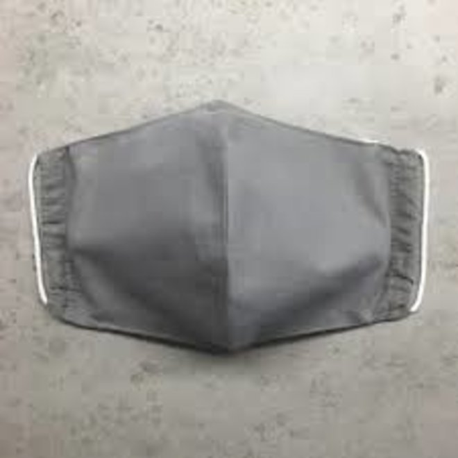 Reusable mouth mask with filter   Gray   children & adults