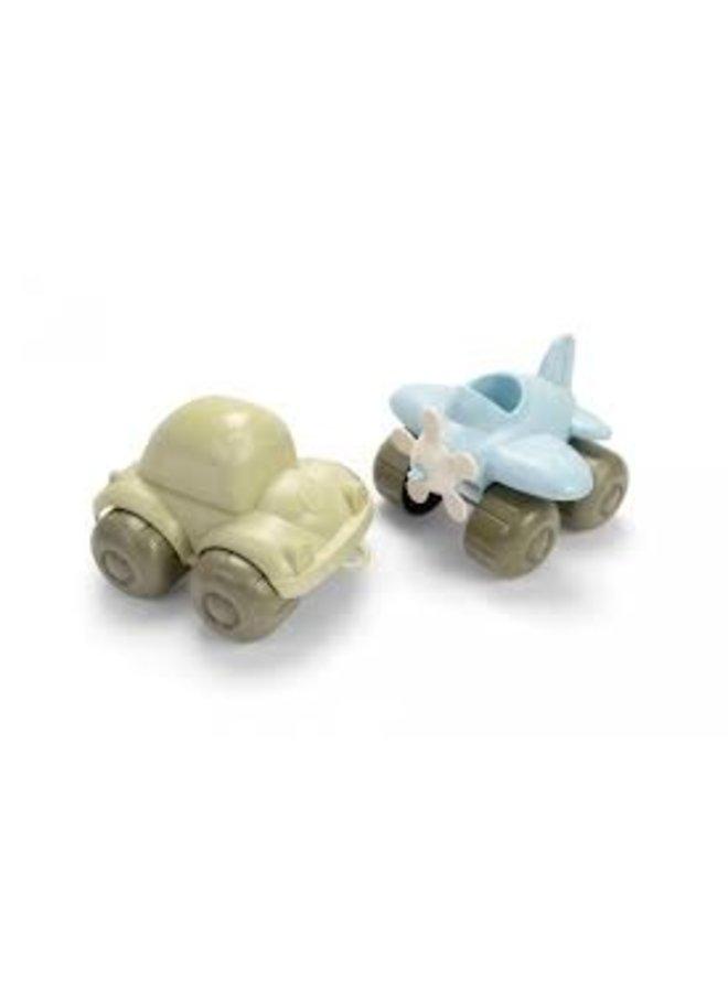 Speelgoed auto & vliegtuig| Bio plastic