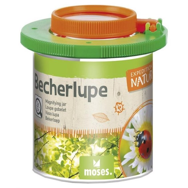 Basic insectenpotje | beker met loep