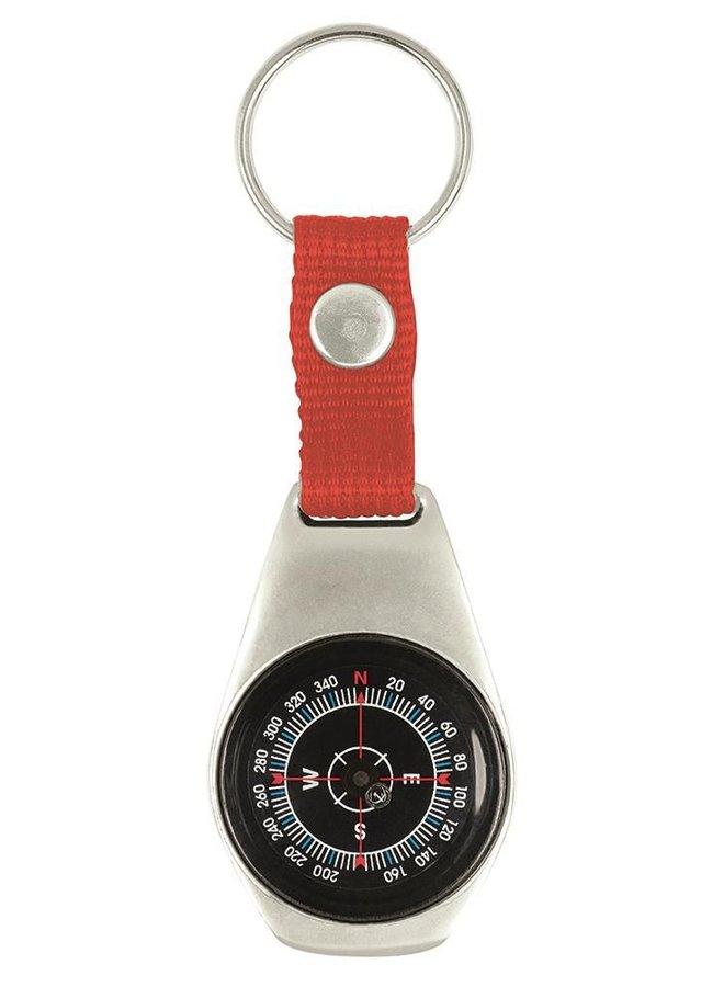 Children's pocket compass | key ring | metal