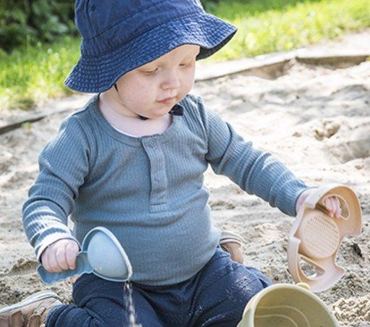 Zandbak speelgoed en buitenspeelgoed voor zand en water