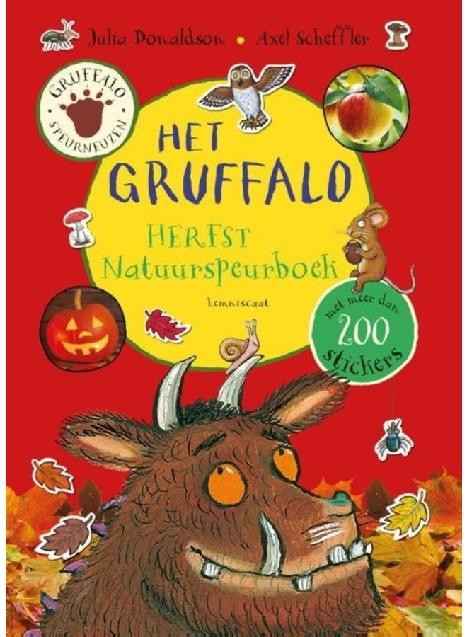 Gruffalo - Nature Research Book Autumn edition