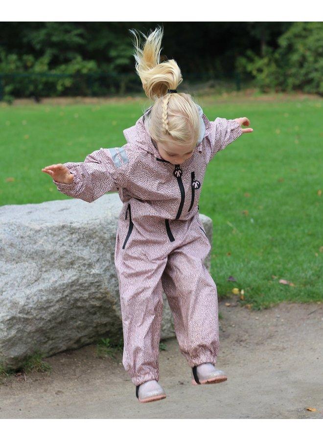 Durable children's rain suit Funky Blue 74-116 - Copy
