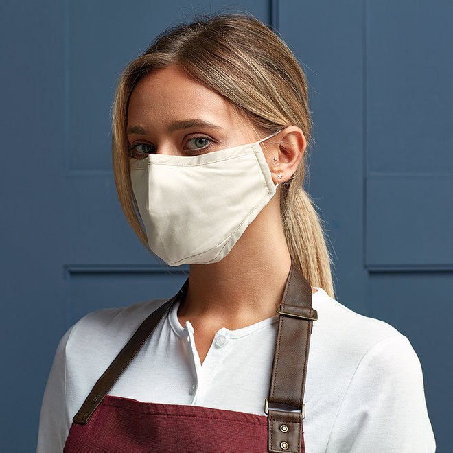 3-layer cotton mouth mask | various colors