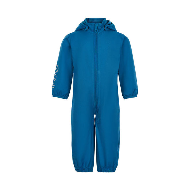 Waterproof softshell coverall | blue