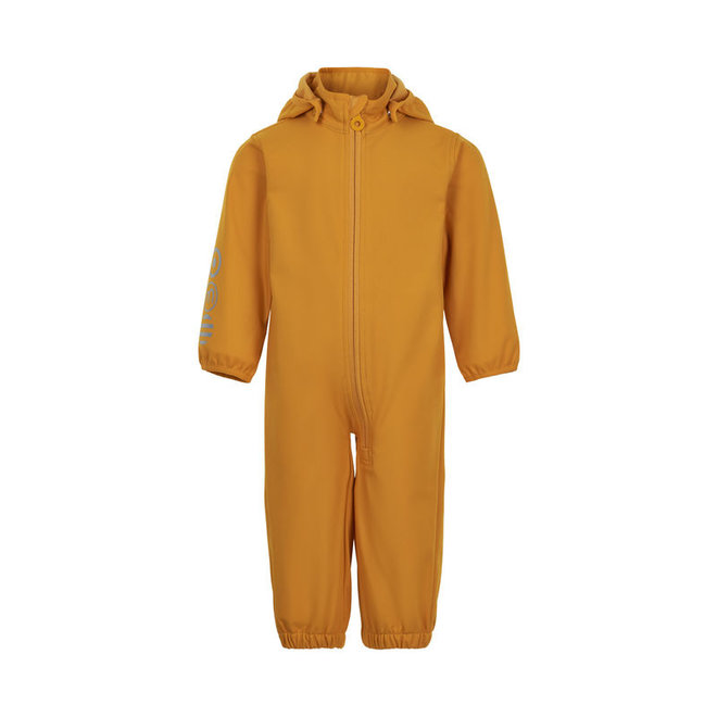 Softshell jumpsuit | size 80-98 | golden orange