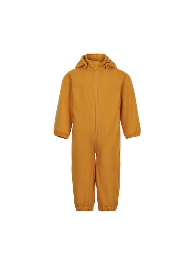 Softshell jumpsuit  | maat 80-98| golden orange