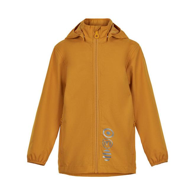 Waterdichte softshell jas| golden orange|