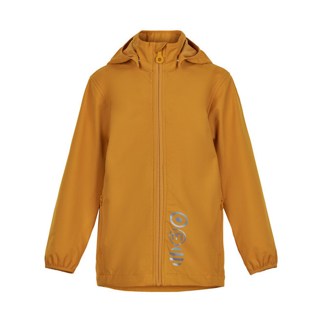 Softshell kinderjas | golden orange| 80-152