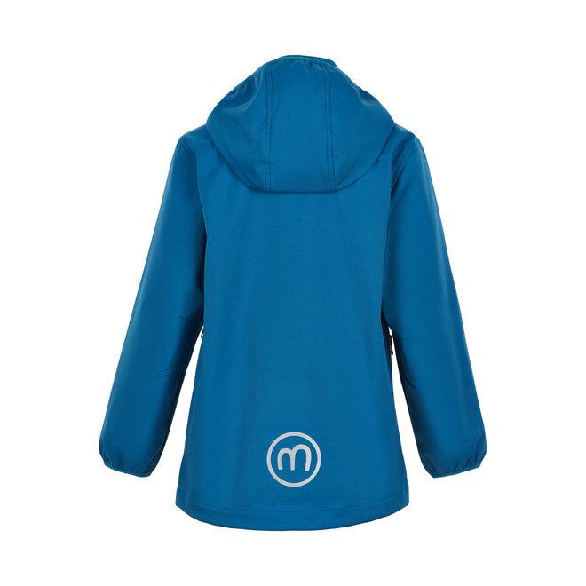 Waterdichte softshell jas  blauw