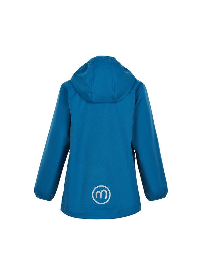 Waterproof softshell jacket | blue