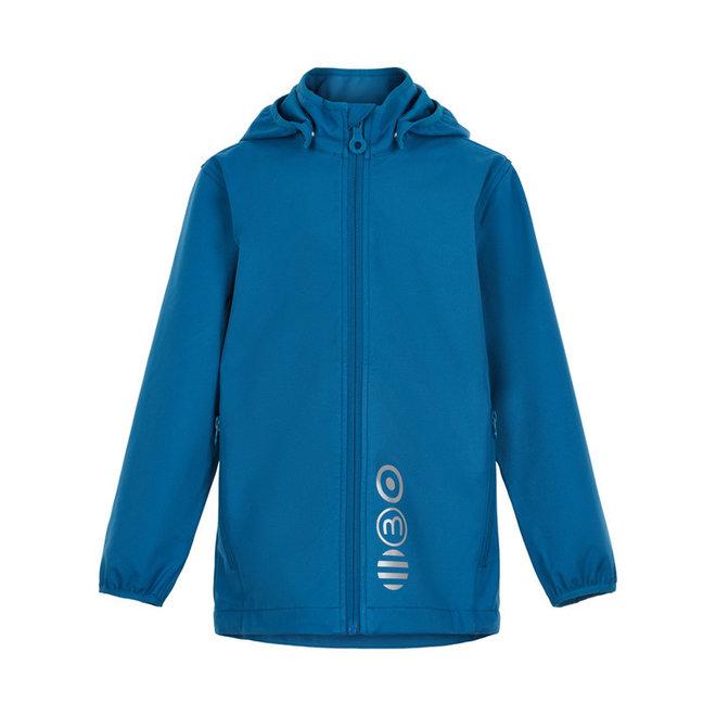 Softshell kinderjas  blauw   80-152