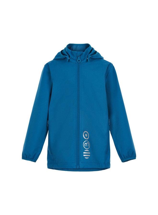 Softshell kinderjas |blauw