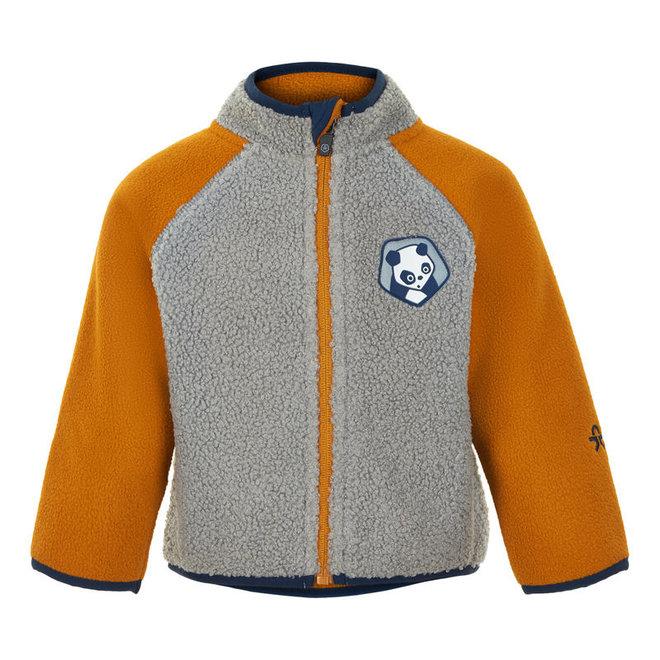Fleece vest Panda | Honey Ginger | maat 80-92