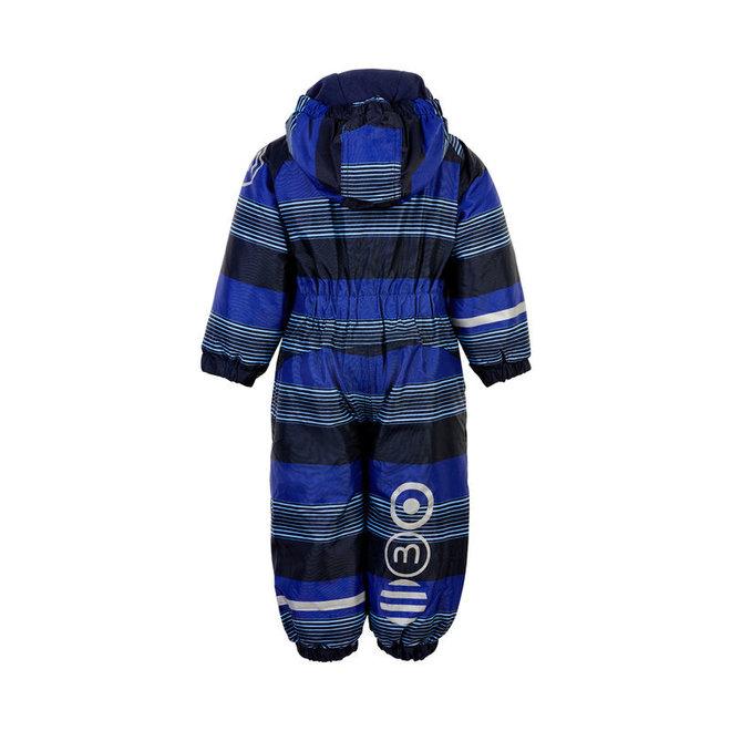 Blue striped ski suit | Oxford Placid Blue | size 80-104
