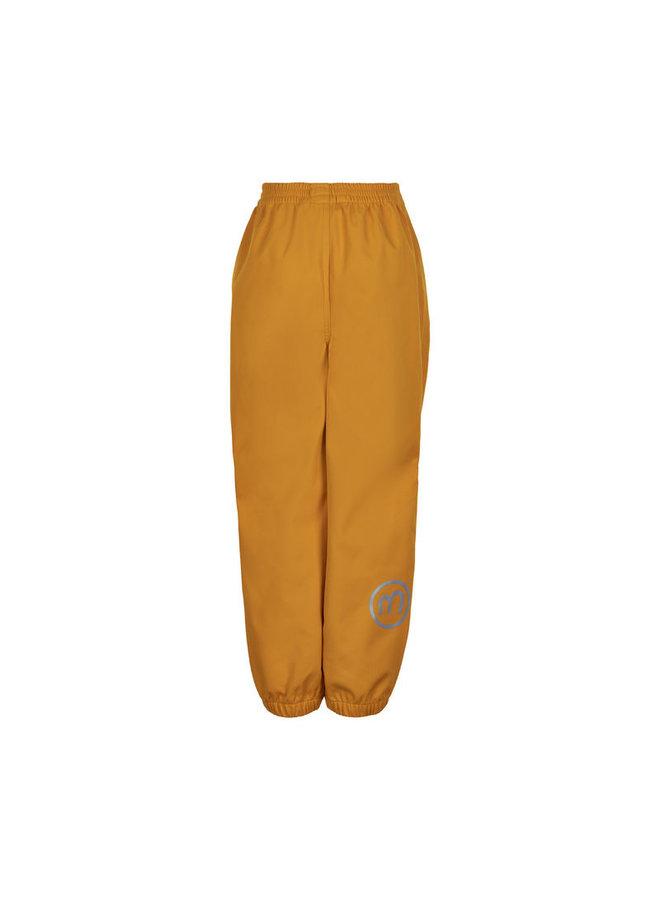 Waterproof softshell pants | golden orange