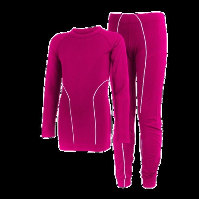 Thermo ondergoed set | Fuchsia