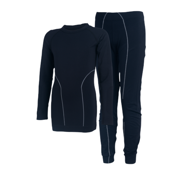 Thermo ondergoed set |zwart