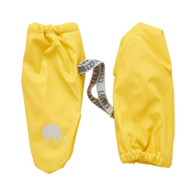 Fleece lined PU mittens | 0-6 years | Yellow