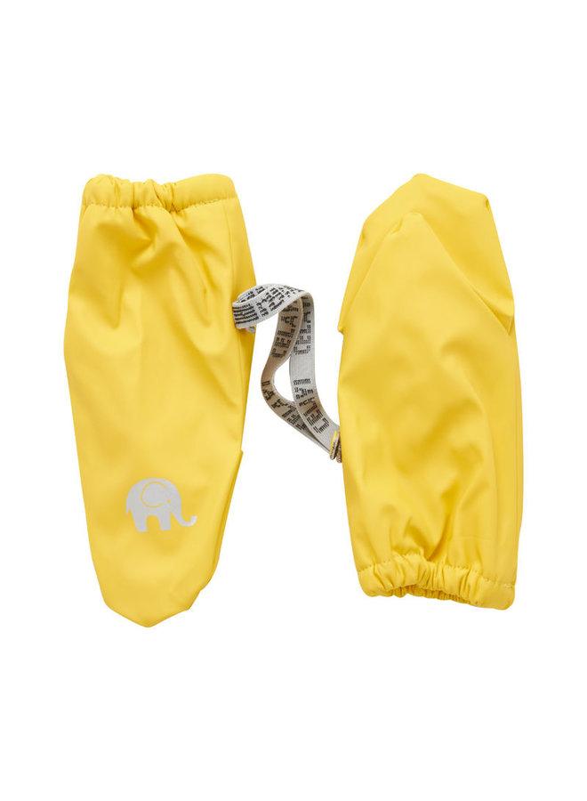 Fleece lined PU mittens   0-4 years   Yellow