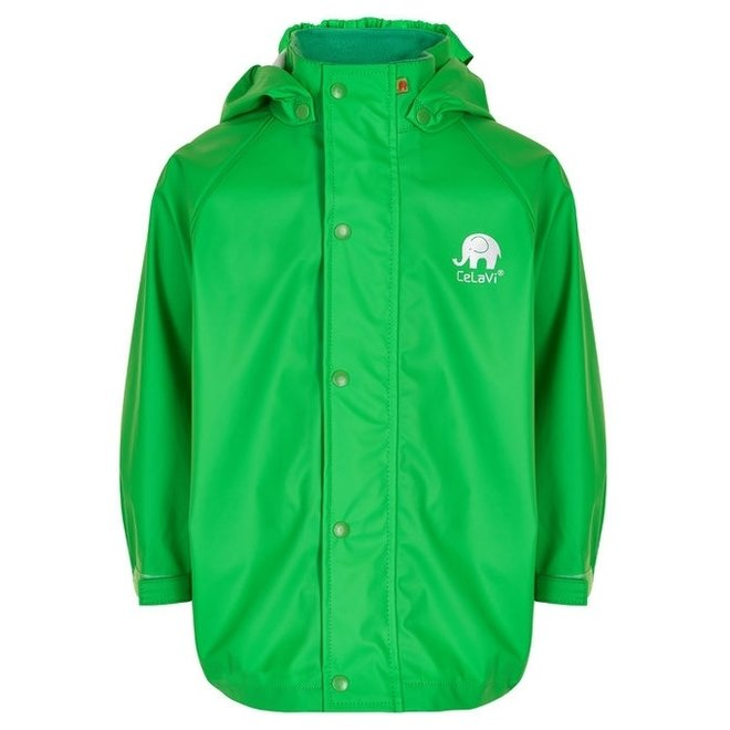 Lime green children's raincoat   80-140