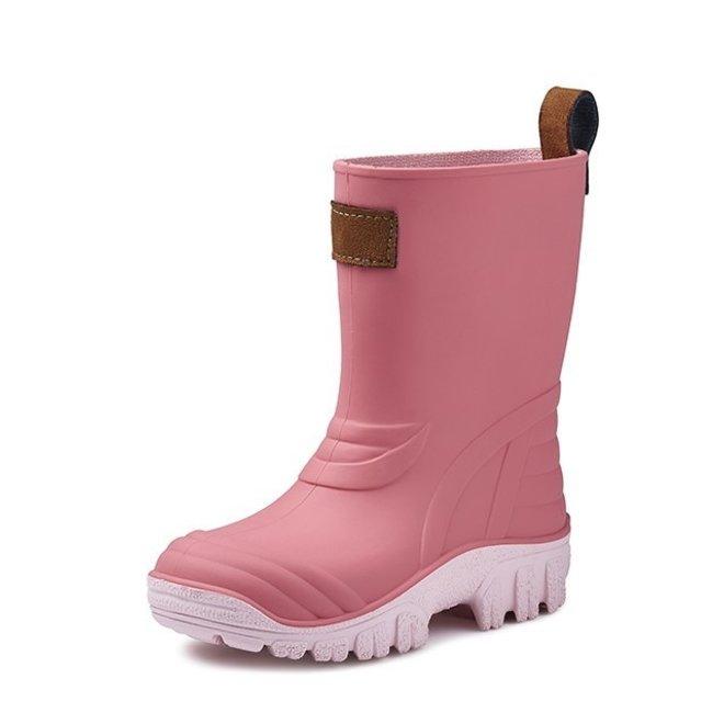 SEBS Rubber kinder regenlaarsjes| roze
