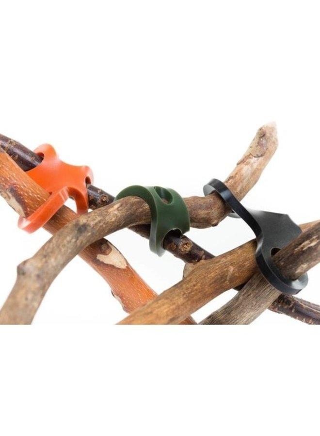 Stick-lets Camo set | 10 stuks siliconen verbindingsstukken