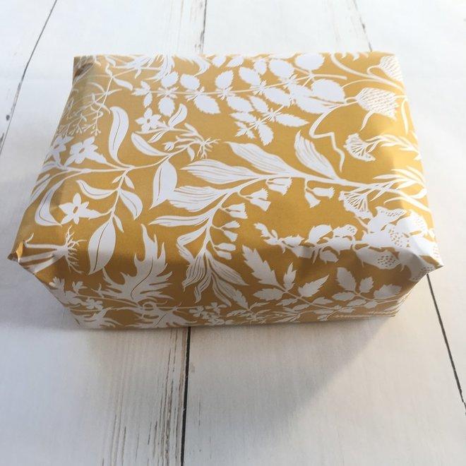 Gift wrapping - Botanical | yellow