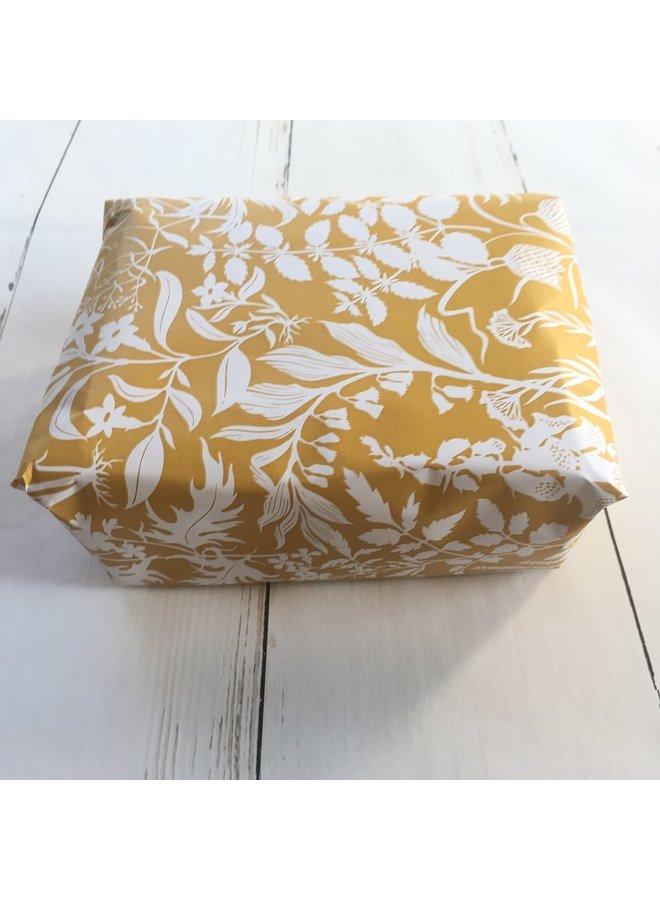Packing service - Botanical | yellow