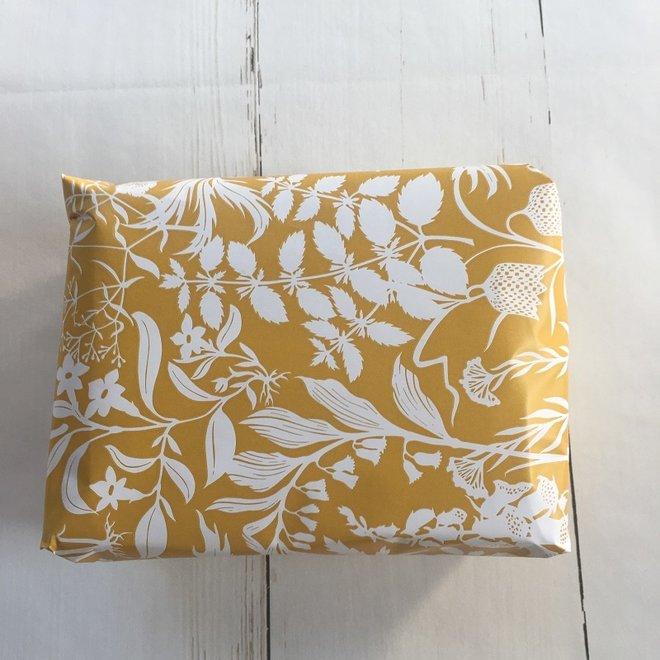 Cadeauverpakking - Botanisch| geel