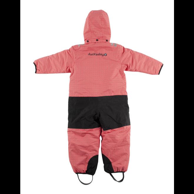 Snowsuit / rainsuit Funky Red| maat 98-116