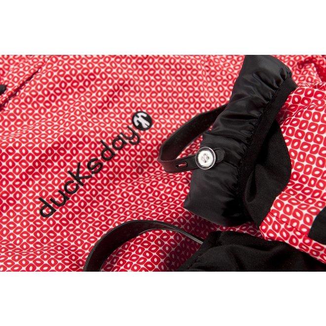 Snowsuit / rainsuit Funky Red | size 98-110