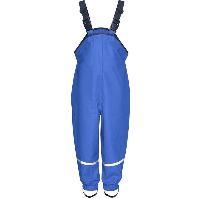 Children's rain pants with suspenders | Cornflower blue