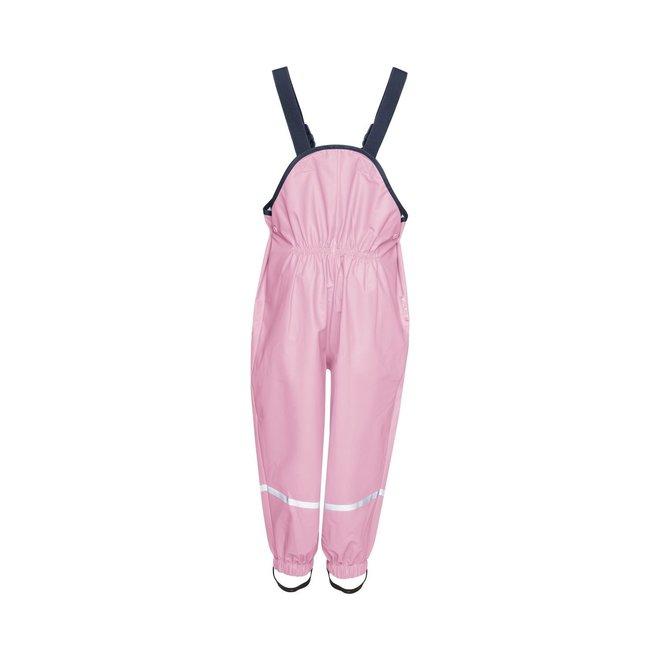 Rain pants suspenders | light pink | size 74 - 104