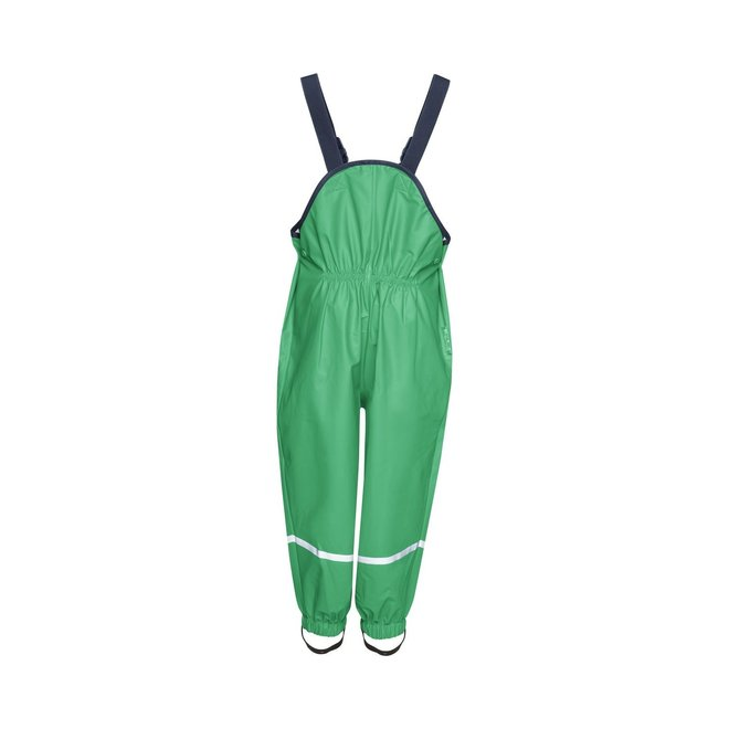 Rain pants suspenders | green | size 74 - 104