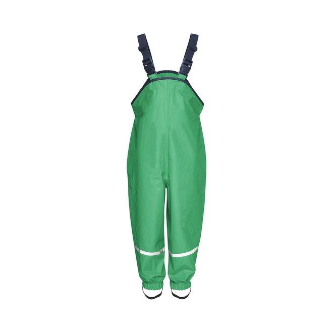 Children's rain pants with suspenders | green