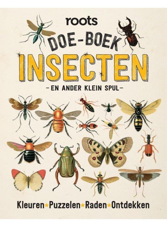 Doe-Boek insecten & ander klein spul