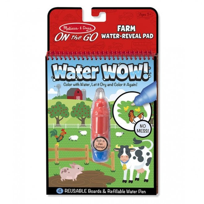 Water-Wow | reusable water coloring books