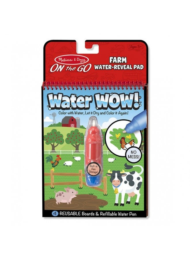 Water-Wow | reusable coloring books